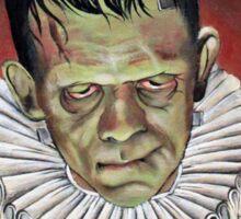 Renaissance Victorian Portrait - Frankenstein Sticker