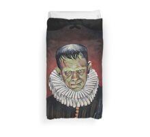 Renaissance Victorian Portrait - Frankenstein Duvet Cover
