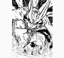 Sasuke vs. Naruto and the Ninetails Unisex T-Shirt