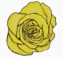 Open Yellow Rose Kids Clothes