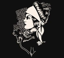 Gypsy- vintage tattoo style Womens Fitted T-Shirt