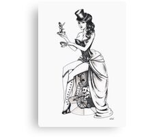 Burlesque circus Canvas Print
