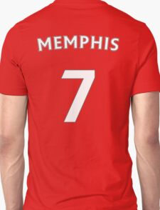 Memphis Depay Man Utd number and name t-shirt Unisex T-Shirt
