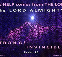 GOD IS YOUR INVINCIBLE HELP! by Lorraine Wright