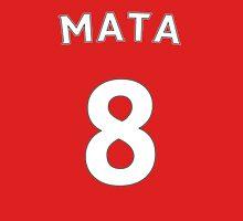 Juan Mata Man Utd number and name t-shirt Unisex T-Shirt