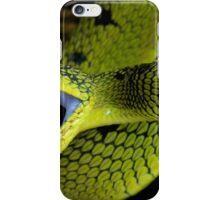 Fangs Green Snake iPhone Case/Skin
