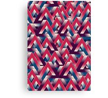Impossible Pattern Canvas Print