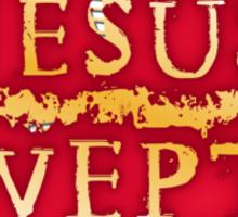 Jesus Wept - Lament Configuration Sticker