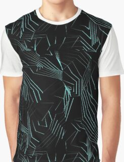 Neon Terrain Graphic T-Shirt