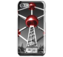 Red Atomium part deux iPhone Case/Skin