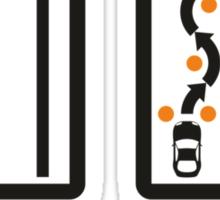 Fast Car - Fast Driver (1) Sticker