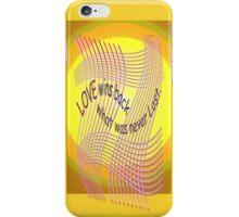 *Love Wins Back* iPhone Case/Skin