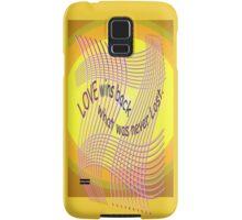 *Love Wins Back* Samsung Galaxy Case/Skin