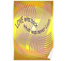 *Love Wins Back* Poster
