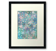 Polkadot Undergrowth Framed Print