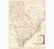 Vintage Map of South Carolina (1779) Unisex T-Shirt