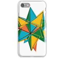 Abstract modern polygonal form iPhone Case/Skin