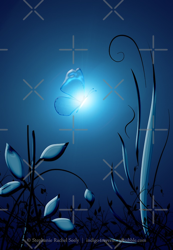Night's Blue by Stephanie Rachel Seely