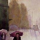 Walking in the rain by Dan Wagner