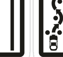 Fast Car - Fast Driver (2) Sticker