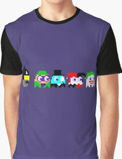 BatPacman & Villains Graphic T-Shirt