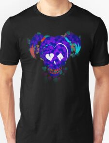 Harley Quinn Cards Fade Unisex T-Shirt