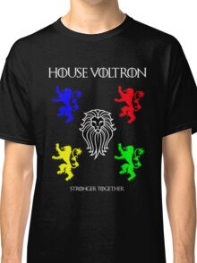 House Voltron - Game of Thrones Mashup Classic T-Shirt
