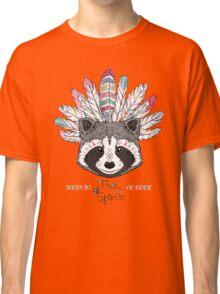 raccoon aztec style Classic T-Shirt