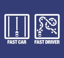 Fast Car - Fast Driver (4) by PlanDesigner