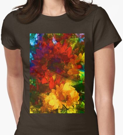 Sunflower 11 Womens Fitted T-Shirt