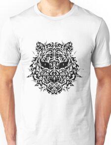 line art tiger head Unisex T-Shirt