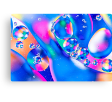 Oil & Water 5 Canvas Print