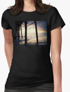 """Oceanside - Late Afternoon""  Womens Fitted T-Shirt"