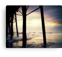 """""""Oceanside - Late Afternoon""""  Canvas Print"""