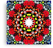 Falling in the berries' field Canvas Print