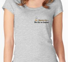 Smoking Quotes Part 2 Women's Fitted Scoop T-Shirt
