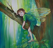 Oak Tree Fairy by Jane Delaford Taylor