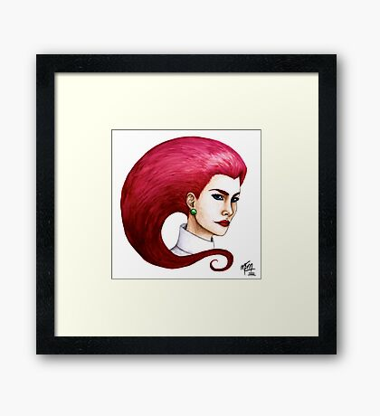Prepare for trouble... Framed Print