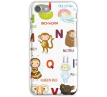 English ABC iPhone Case/Skin
