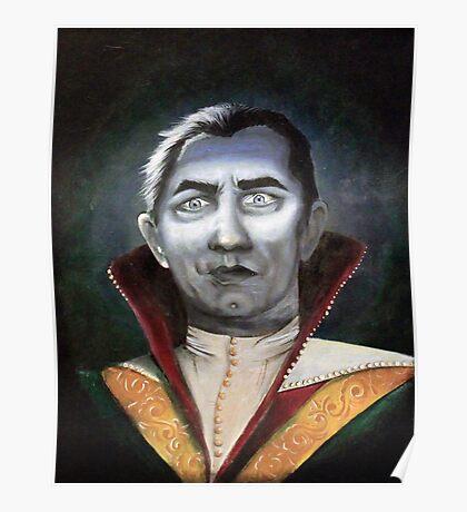 Renaissance Victorian Portrait - Dracula Poster