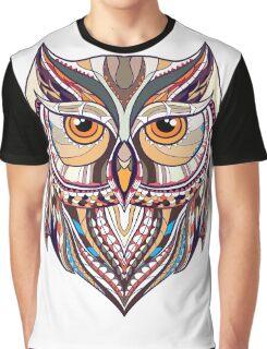 ethnic owl Graphic T-Shirt