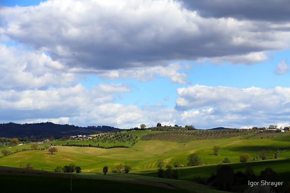 All About Italy. Tuscany Landscape 1 by Igor Shrayer