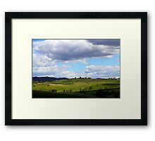 All About Italy. Tuscany Landscape 1 Framed Print