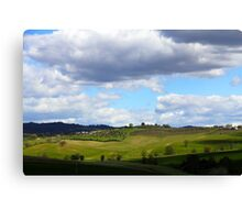 All About Italy. Tuscany Landscape 1 Canvas Print