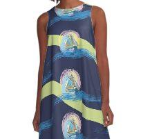 Sail Away A-Line Dress