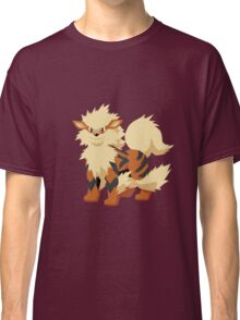 Arcanine Pokemon Simple No Borders Classic T-Shirt