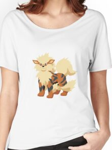 Arcanine Pokemon Simple No Borders Women's Relaxed Fit T-Shirt