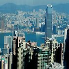The Peak Hong Kong by Sandra  Sengstock-Miller