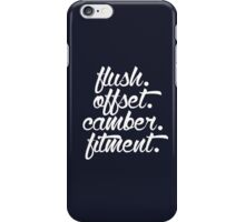 flush offset camber fitment (5) iPhone Case/Skin