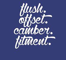 flush offset camber fitment (5) Unisex T-Shirt